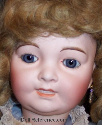 Antique French Lanternier Caprice doll 36""