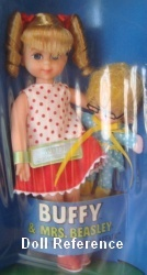 3577 Mattel Buffy doll & Mrs. Beasley doll 1968