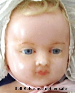 Montanari Princess Royal wax doll, 24""