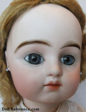 Pintel & Godchaux bisque head doll 24""