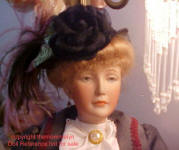 S & H Character face, bisque Lady doll mold 152