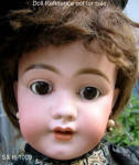 1889-1920s S & H Character face, Child doll mold 1009