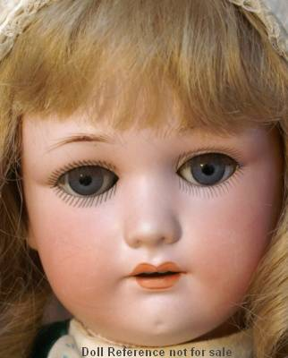 Simon Halbig doll mold 1348 Jutta bisque doll head