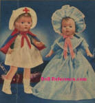 1942 Spiegel Patriotic Nurse Doll, Dolly Cries Mama doll ad