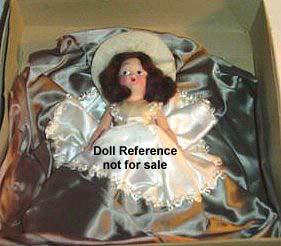 1951 Standard Miniature dolls with human voice 8""