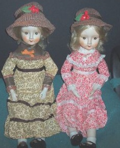 1970s to 1980s Walda porcelain collector doll