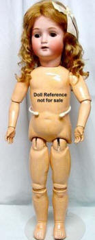 "ABG Sweet Nell doll, 24"", mold 1362"