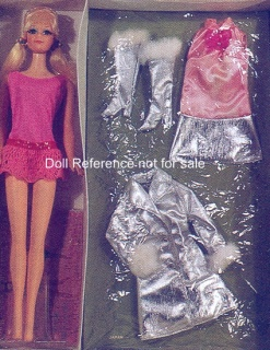 1588 PJ Doll - Swingin n' Silver gift set Sears 1970