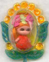 3741 Flower Pin doll 1968-70
