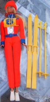 7264 Barbie Gold Medal Skier (1975-1976)