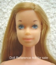 7382 Barbie 1976 Stacey head mold