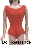 Barbie's red helenca swimsuit