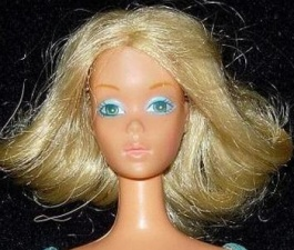 9217 Barbie Deluxe Quick Curl (1976)