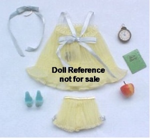 Barbie doll 973 Sweet Dreams Yellow 1959-1963
