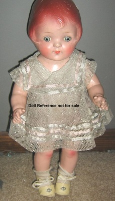 1931 Acme Marilyn doll, a Patsy type doll, 16""