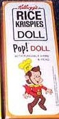 1968 Kelloggs Pop doll box