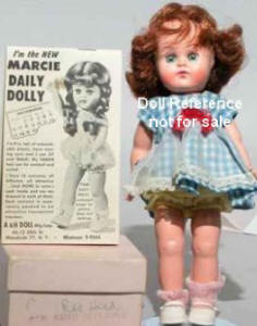 A & H 1955 Marcie Daily Dolly, 9""