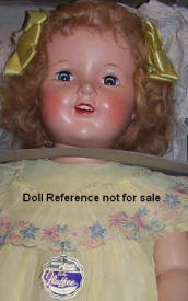 1940s Halco Fluffee Doll 30""