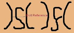 Hermann Steiner - H S doll marking