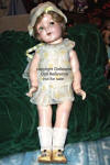 "1934-1937 Ginger doll, 21"" tall"
