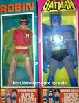 1974 Batman & Robin, 8""