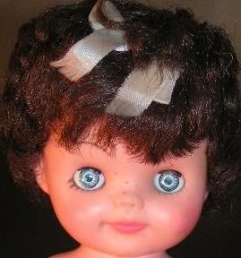 "Allied Grand Bonnie doll, 8"" tall"