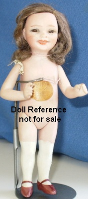 Jeanne Orsini all bisque Didi doll mold 41, 5""