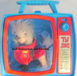 "1966 TV Jones 5 1/2"" tall poodle dog"