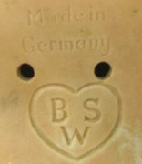 Bruno Schmidt's BSW inside a heart doll marking