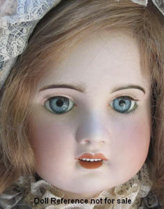 SFBJ bisque head doll, 28""