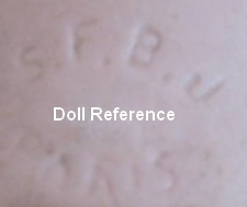 SFBJ doll marking