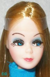1970-1973 Topper Dawn doll, 6""