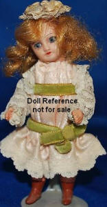 UNIS Miignonette doll, 301 mold